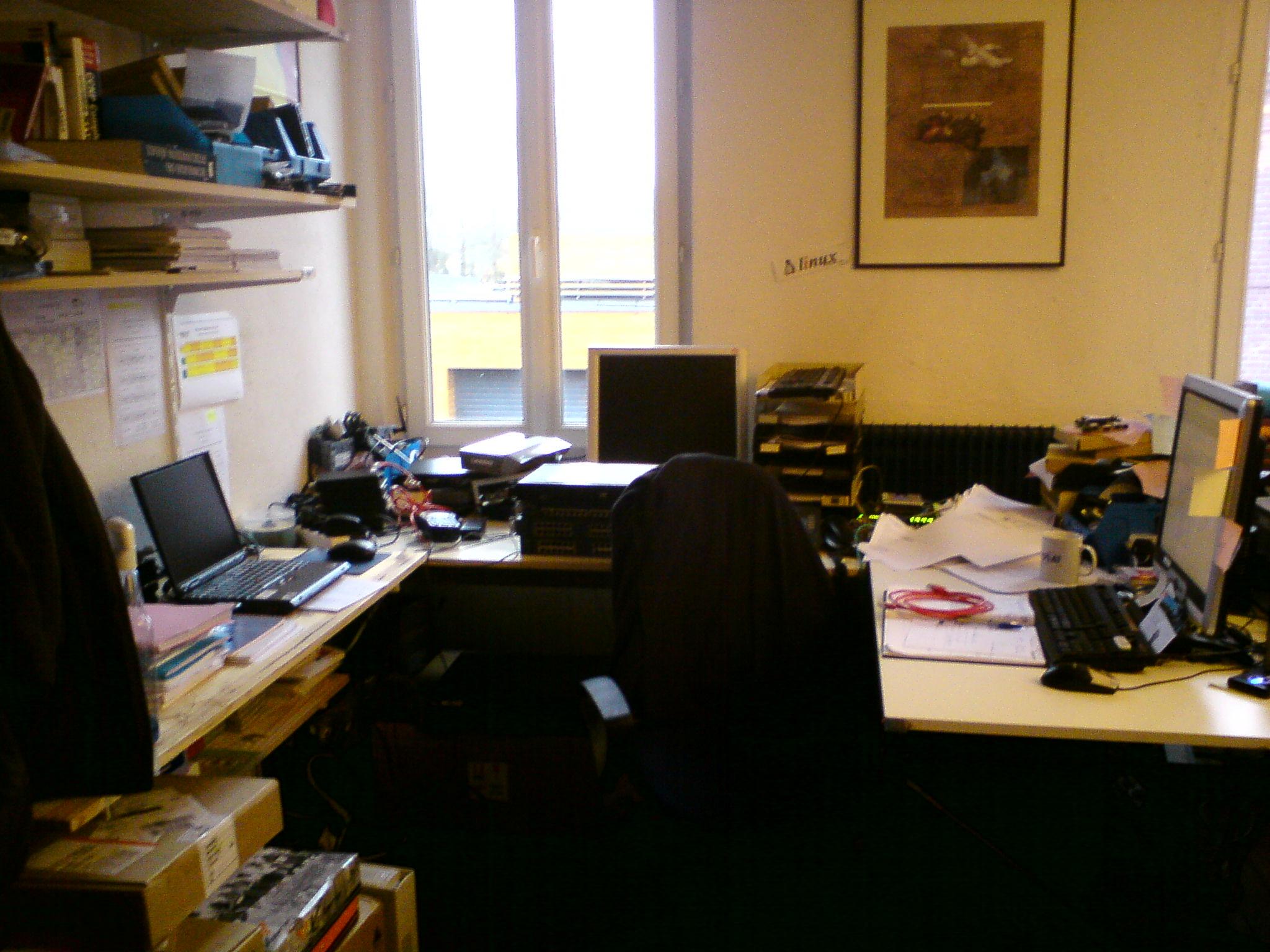Mon bureau mon joyeux bordel